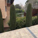 Mantenimiento-de-Proyecto-de-Jardineríaen-chalet-unifamiliar-en--La-Moraleja-de-Madrid Detalle de rampa vehiculos
