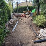 Proyecto de jardineria y paisajismo para chalet Madrid. Encinar de los Reyes Antes Hacia entrada 4