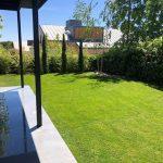 Proyecto de jardineria y paisajismo para chalet Madrid. Encinar de los Reyes Lateral