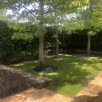 Proyecto de jardineria. Jardineros en el Encinar de los Reyes 2 (Madrid)