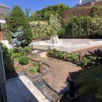 Proyecto de jardineria. Jardineros en el Encinar de los Reyes (Madrid)